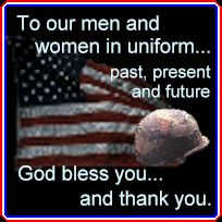 Thank You to our Men and Women in Uniform